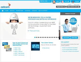 celcom.com.my screenshot