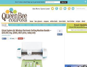 Thumbshot of Queenbeecoupons.com