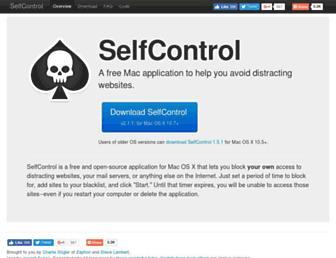 selfcontrolapp.com screenshot