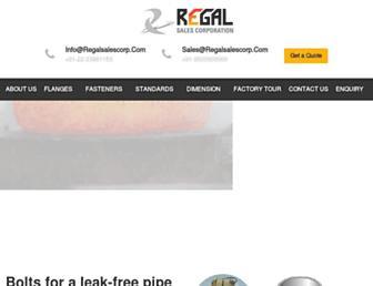 regalsalescorp.com screenshot