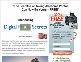 digital-photo-secrets.com screenshot