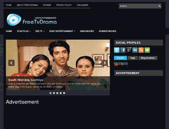 freetvdrama.blogspot.com screenshot