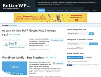 betterwp.net screenshot