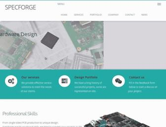 specforge.com screenshot