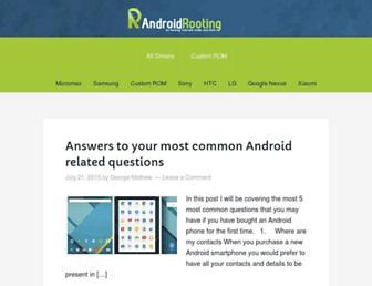 Thumbshot of Androidrooting.com