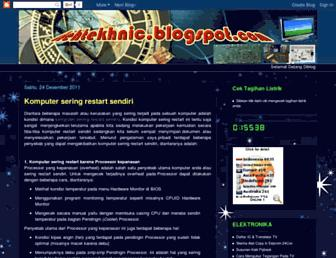 ilehtekhnic.blogspot.com screenshot
