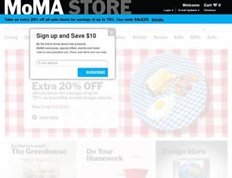 Thumbshot of Momastore.org