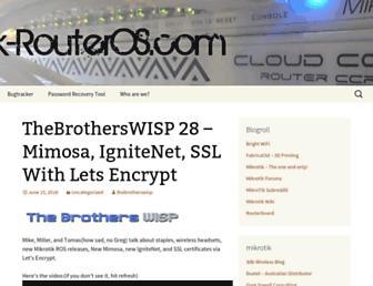 mikrotik-routeros.com screenshot