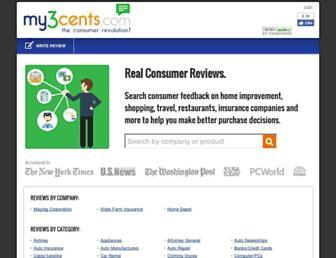 mythreecents.com screenshot