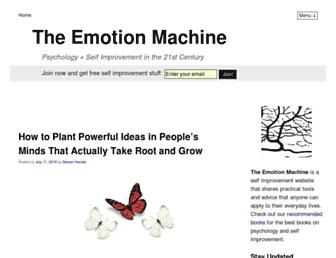 Thumbshot of Theemotionmachine.com