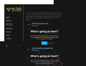 ai3d.com.au screenshot