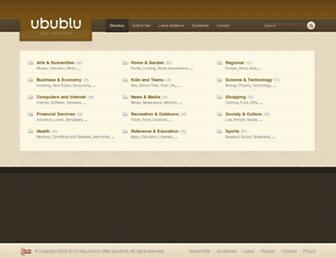 ubublu.com screenshot