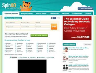 spinxo.com screenshot