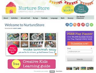 Thumbshot of Nurturestore.co.uk
