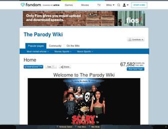 parody.wikia.com screenshot