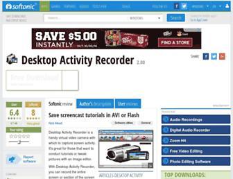 desktop-activity-recorder.en.softonic.com screenshot