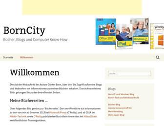 borncity.com screenshot