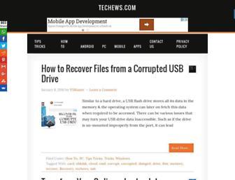 Thumbshot of Techews.com