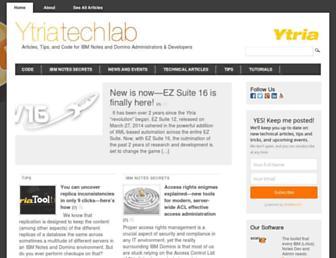 techlab.ytria.com screenshot