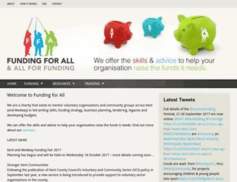 fundingforall.org.uk screenshot