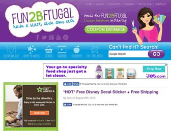 Thumbshot of Fun2bfrugal.com