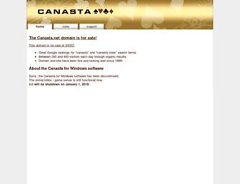canasta.net screenshot