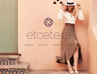 etcetera.com screenshot