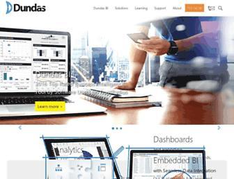 dundas.com screenshot