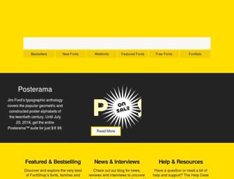 fontshop.com screenshot