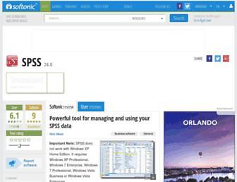 spss.en.softonic.com screenshot
