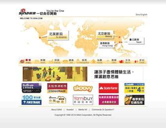 Thumbshot of Sina.com
