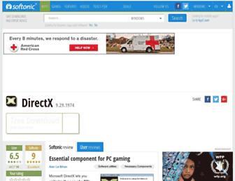 directx.en.softonic.com screenshot
