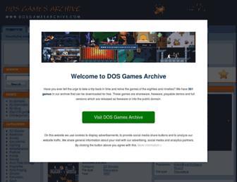 dosgamesarchive.com screenshot