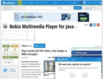 nokia-multimedia-player.en.softonic.com screenshot