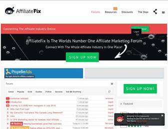 affiliatefix.com screenshot