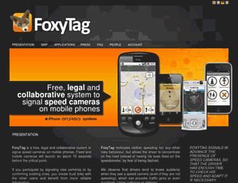 foxytag.com screenshot