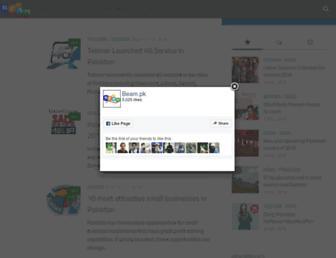 beam.pk screenshot