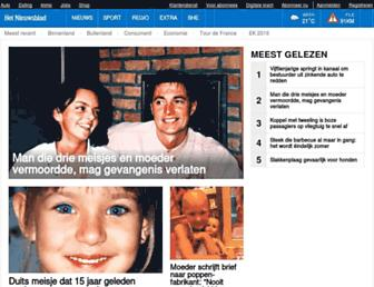 Thumbshot of Nieuwsblad.be