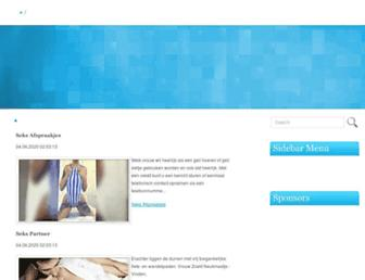 Main page screenshot of woonkeet.nl
