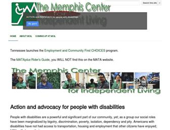 Main page screenshot of mcil.org