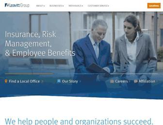 leavitt.com screenshot