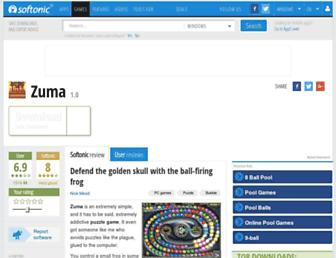zuma.en.softonic.com screenshot