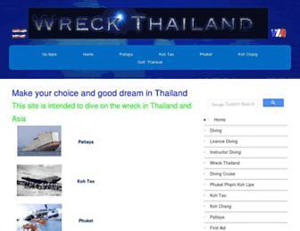 wreck-thailand.com screenshot