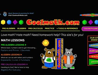 Thumbshot of Coolmath.com