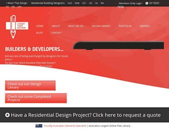 iwantthatdesign.com.au screenshot