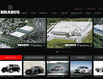 brabus.com screenshot