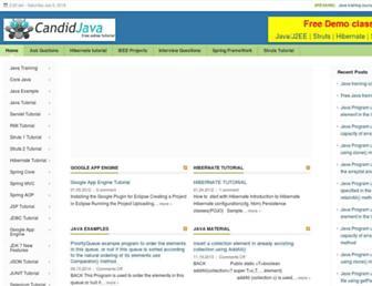 candidjava.com screenshot