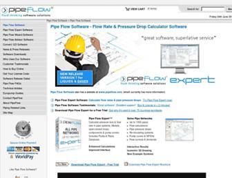 pipeflow.co.uk screenshot