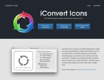 iconverticons.com screenshot