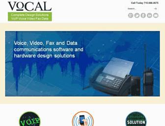 vocal.com screenshot